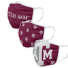 Texas A&M Aggies NCAA 3 Pack Face Cover