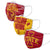 Iowa State Cyclones NCAA Super Fan 3 Pack Face Cover