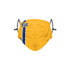 Pittsburgh Panthers NCAA Team Stripe Big Logo Face Cover