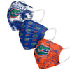 Florida Gators NCAA Womens Matchday 3 Pack Face Cover