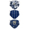 Navy Midshipmen NCAA Womens Matchday 3 Pack Face Cover