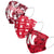 Nebraska Cornhuskers NCAA Womens Matchday 3 Pack Face Cover