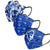 Seton Hall Pirates NCAA Womens Matchday 3 Pack Face Cover