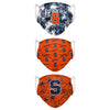 Syracuse Orange NCAA Womens Matchday 3 Pack Face Cover