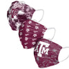 Texas A&M Aggies NCAA Womens Matchday 3 Pack Face Cover