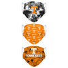 Tennessee Volunteers NCAA Womens Matchday 3 Pack Face Cover