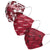 Arkansas Razorbacks NCAA Womens Matchday 3 Pack Face Cover