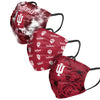 Indiana Hoosiers NCAA Womens Matchday 3 Pack Face Cover