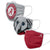 Alabama Crimson Tide NCAA Mascot 3 Pack Face Cover