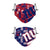 New York Giants NFL Logo Rush Adjustable 2 Pack Face Cover