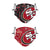San Francisco 49ers NFL Logo Rush Adjustable 2 Pack Face Cover
