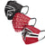 Atlanta Falcons NFL Mens Matchday 3 Pack Face Cover