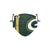 Green Bay Packers NFL On-Field Sideline Logo Face Cover