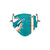 Miami Dolphins NFL On-Field Sideline Logo Face Cover