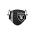Las Vegas Raiders NFL On-Field Sideline Logo Face Cover
