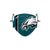 Philadelphia Eagles NFL On-Field Sideline Logo Face Cover