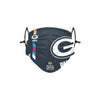 Green Bay Packers NFL Crucial Catch Adjustable Face Cover