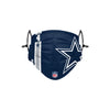 Dallas Cowboys NFL Dak Prescott On-Field Sideline Logo Face Cover
