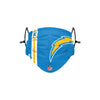 Los Angeles Chargers NFL Keenan Allen On-Field Sideline Logo Face Cover