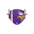 Minnesota Vikings NFL Adam Thielen On-Field Sideline Logo Face Cover