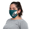Philadelphia Eagles NFL Carson Wentz On-Field Sideline Logo Face Cover