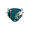 Philadelphia Eagles NFL Miles Sanders On-Field Sideline Logo Face Cover