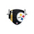 Pittsburgh Steelers NFL Juju Smith-Schuster On-Field Sideline Logo Face Cover