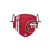San Francisco 49ers NFL George Kittle On-Field Sideline Logo Face Cover
