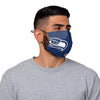 Seattle Seahawks NFL Russell Wilson On-Field Sideline Logo Face Cover