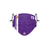 Minnesota Vikings NFL Adam Thielen On-Field Sideline Face Cover