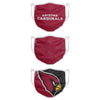 Arizona Cardinals NFL 3 Pack Face Cover