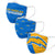 Los Angeles Chargers NFL 3 Pack Face Cover