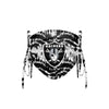 Las Vegas Raiders NFL Tie-Dye Beaded Tie-Back Face Cover