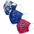 Buffalo Bills NFL Womens Matchday 3 Pack Face Cover