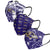 Baltimore Ravens NFL Womens Matchday 3 Pack Face Cover