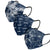 Dallas Cowboys NFL Womens Matchday 3 Pack Face Cover