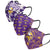 Minnesota Vikings NFL Womens Matchday 3 Pack Face Cover