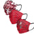 Tampa Bay Buccaneers NFL Womens Matchday 3 Pack Face Cover