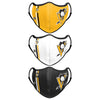 Pittsburgh Penguins NHL Sport 3 Pack Face Cover (PREORDER - SHIPS MID MARCH)