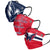 Washington Capitals NHL Mens Matchday 3 Pack Face Cover