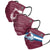 Colorado Avalanche NHL Mens Matchday 3 Pack Face Cover