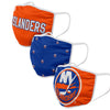 New York Islanders NHL 3 Pack Face Cover