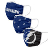 Tampa Bay Lightning NHL 3 Pack Face Cover