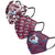 Colorado Avalanche NHL Womens Matchday 3 Pack Face Cover