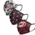 Carolina Hurricanes NHL Womens Matchday 3 Pack Face Cover