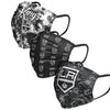 Los Angeles Kings NHL Womens Matchday 3 Pack Face Cover