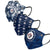 Winnipeg Jets NHL Womens Matchday 3 Pack Face Cover