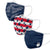 Barbells & Kettlebells 3 Pack Face Cover