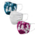 Blue & Pink Tie-Dye 3 Pack Face Cover