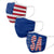 Americana 3 Pack Face Cover